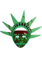Trick Or Treat The Purge Libertà Si Illumina Maschera Adulti Costume Hal... - $37.78