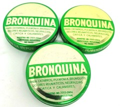 3 PK BRONQUINA  COLD AND FLU RELIEF GRIPE CATARRO BRONQUITIS PULMONÍA NE... - $11.29