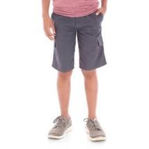 Wrangler Boys Cargo Jogger Shorts Active Flex Dark Navy Size SMALL 6-7 New - $13.85