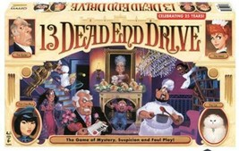 13 Dead End Drive Board Game Mystery Games Role Playing Games Family Games - $26.71