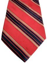 TOMMY HILFIGER Tie Pink – White & Blue Stripes - $18.44