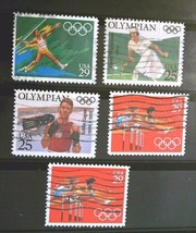 United States Set of 5 Stamps -used cancelled- Free Shipping  Lot  3030 - $1.68