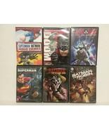 DC ANIMATED DVDS: KILLING JOKE, BATMAN VS ROBIN, JL: DOOM, GODS & MONSTERS  - $32.73