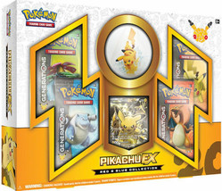 Pikachu EX Red and Blue Booster Box POKEMON Generations 20th Anniversary... - $59.99