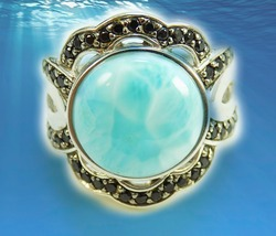 HAUNTED OCEAN'S CALM TIDE RING BRING PEACE OFFER ONLY EXTREME MAGICK 7 S... - $89,007.77