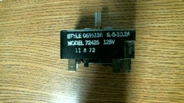 #731 FRIGIDAIRE RANGE SWITCH 0635136 635136 - FREE SHIPPING!! - $20.25