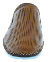 NEW ZANZARA Mens MERZ Slip-On Premium Perforated Leather Shoes image 8
