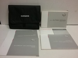 2013 Nissan Altima Sedan Owners Manual by Nissan - $37.62