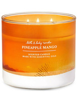 Bath & Body Works Pineapple Mango Three Wick 14.5 Ounces Scented Candle - $23.95