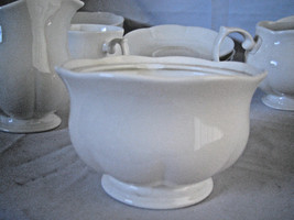 Block Windsor Bone China White sugar bowl no lid - $14.07