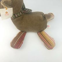 "Gund Chester Plush Moose 12"" Stuffed Beans Cordy Fall Friends Original Tags Toy image 7"
