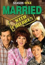 MARRIED...WITH CHILDREN - THE COMPLETE FIRST SEASON NEW DVD - $24.40