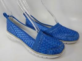 Propet TravelLite Size 7 M (B) EU 37 Women's Slip-On Woven Shoes Ocean W3238