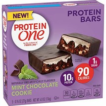 Protein One 90 Calorie Protein bar Mint Chocolate Cookie, 5 Count - $10.87