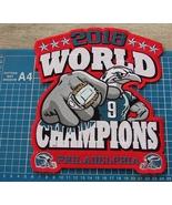 2018 PHILADELPHIA EAGLES WORLD CHAMPION PATCH SUPERBOWL NFL HUGE RED EMB... - $35.00