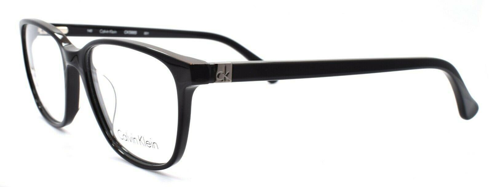 Calvin Klein CK5885 001 Women's Eyeglasses Frames 52-16-140 Black - $59.20