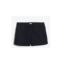 J.Crew Factory Women's Solid Drawstring Shorts Navy Size L NWT - $25.74