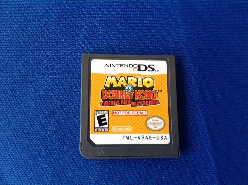 "Nintendo DS Demo ""Mario vs Donkey Kong Mini-Land Mayhem"""