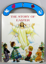The Story Of Easter Boardbook Carry Me Along Handle by George Brundage f... - $7.72