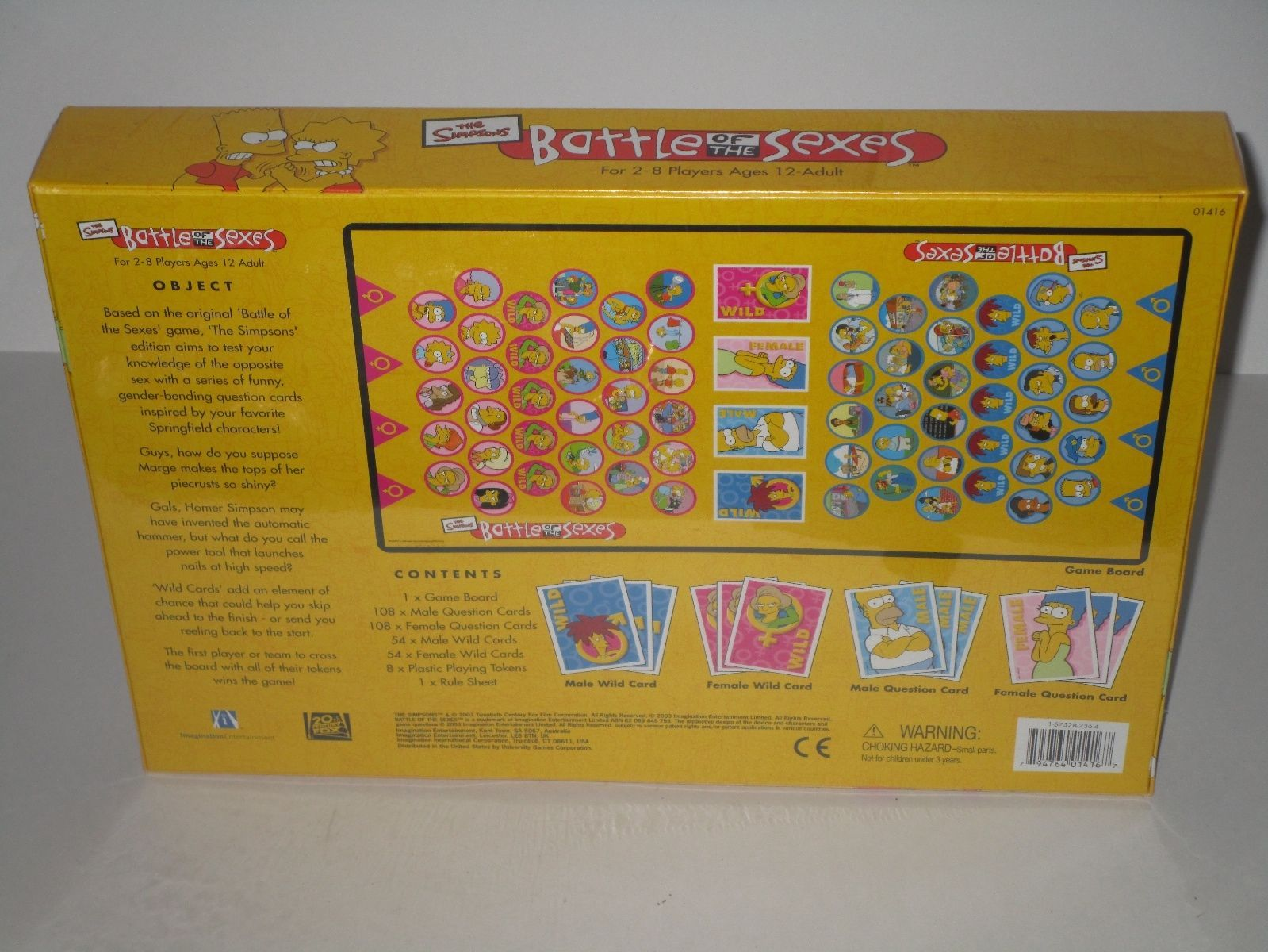 Battle of the sex board game rule
