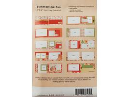 "S.E.I. Scrapbook in a Bag, Winnie's Walls, a Summertime 4"" x 6"" Memory Book Kit image 2"