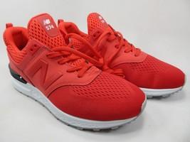 New Balance 574 Sport Size 9.5 M (D) EU 43 Men's Running Shoes Red MS574TMY