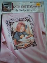 Daisy Kingdom Iron On Transfer 06111 Budding Artist Nostalgic Collection NIP - $4.99