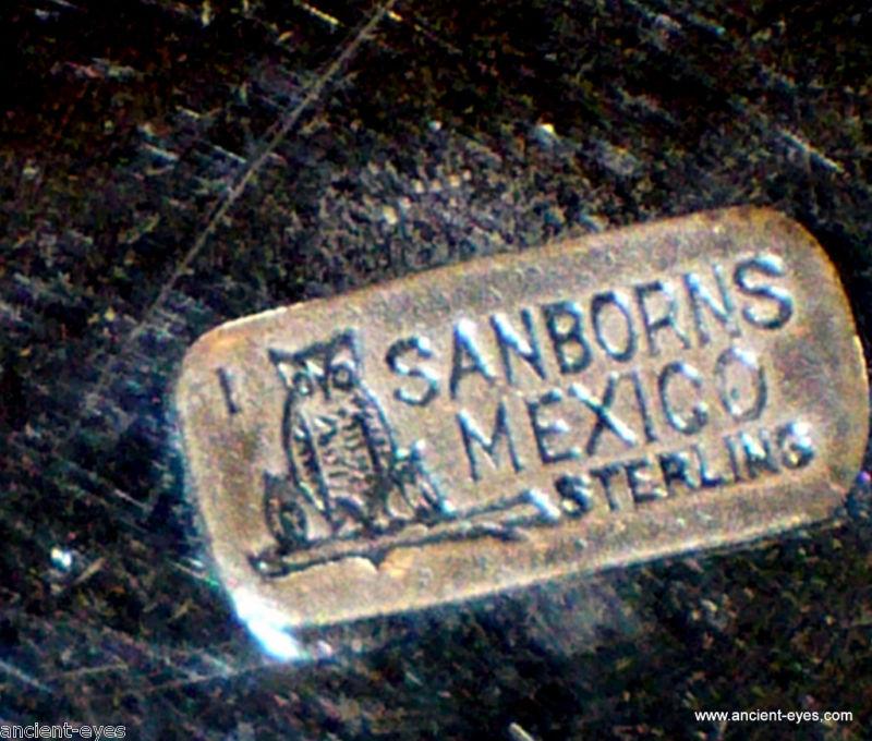 MEX. Sanborns .925 Silver Coffee Set (Sugar & Creamer)