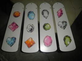 CUSTOM GEMSTONE BLING CEILING FAN ~PERFECT FOR WOMEN & GIRLS ROOM - $99.99