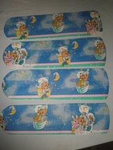 CUSTOM TEDDY BEDDY BEAR & FRIENDS STARRY SKY NURSERY SLEEPY TIME CEILING... - $99.99