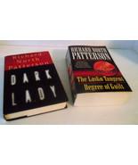 Richard North Patterson Lasko Tangent Degree Guilt Dark Lady Lot HBDJ Su... - $15.81