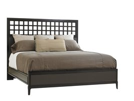 Wicker Park Wood Panel Bed in Brownstone by Stanley Furniture - $1,299.99+