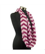 Chevron Sheer Infinity Scarf Soft Multi Color Scarves Wine Wrap Lightwei... - €7,06 EUR