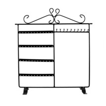 Black Classic Jewelry Holder, New Jewelry Stand Earrings - Necklaces - B... - $9.47