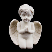 Ceramic Praying Angel Cherub Figurine Statue Church Wedding Decor Event ... - $10.39+