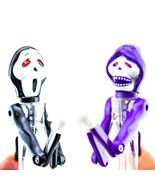 Ghost Boxing Punching Ball Point Pen Black Ink Office School Novelty LED... - €3,38 EUR+
