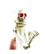 Gold Skeleton Boxing Punching Ball Point Pen Black Ink Office School LED... - €3,38 EUR