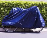 Dark Blue Bicycle Cycling Rain Dust Cover Waterproof Garage Outdoor Protector