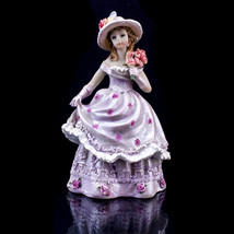 Lavender Quince Anos Quinceanera Figurine Statue Fifteen Party Favor Cak... - $14.01