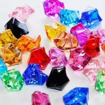 Assorted Acrylic Ice Chips Table Scatter Confetti Floral Arranging Vase 1lb - $11.29