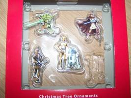 Hallmark Star Wars Box Set of 4 Christmas Ornaments Yoda Chewbacca C3PO ... - $14.00