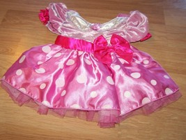 Size 12-18 Months Disney Store Minnie Mouse Costume Dress Pink White EUC - $32.00