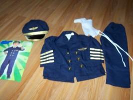 Toddler Size 2-4 Forum Novelties Airline Pilot Halloween Costume Plane C... - £35.13 GBP
