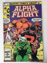 Alpha Flight #2 1983 Marvel Comic VF (8.5) Condition Mystery Of Marrina - $2.69