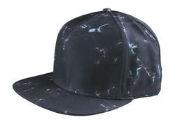 Rastaclat Typhoeos Black Marble Adjustable Snapback Baseball Hat Cap NEW image 2