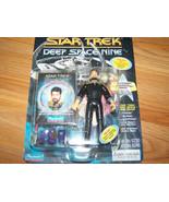 Vintage 1994 Star Trek Deep Space Nine Lieutenant Thomas Riker Action Fi... - $22.00
