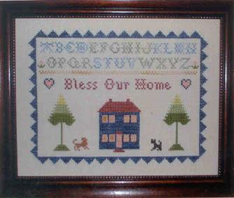 Oms bless our home sampler