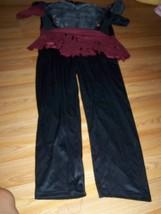 Boy's Size XL X Large 18-20 Death Warrior Halloween Costume Jumpsuit EUC  - $22.00