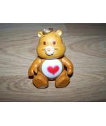 "Vintage 1983 Tenderheart Care Bear PVC Figure 3.5"" Heart Tummy AGC EUC  - $15.00"
