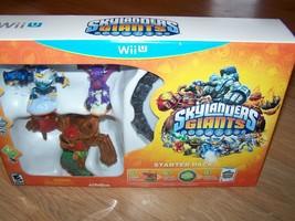 Skylanders Giants Starter Pack for WiiU Game Portal 3 Figures Tree Rex C... - $50.00
